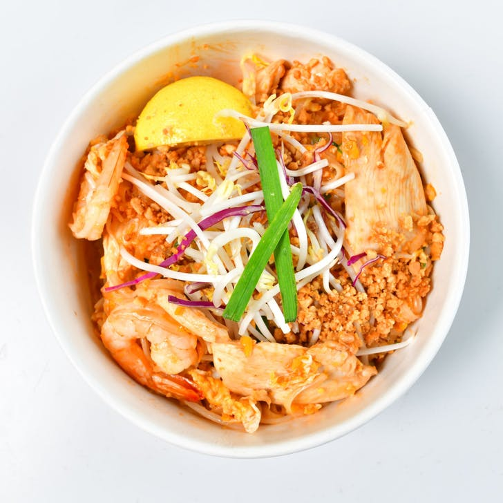 Wok Express' Classic Pad Thai with Chicken.