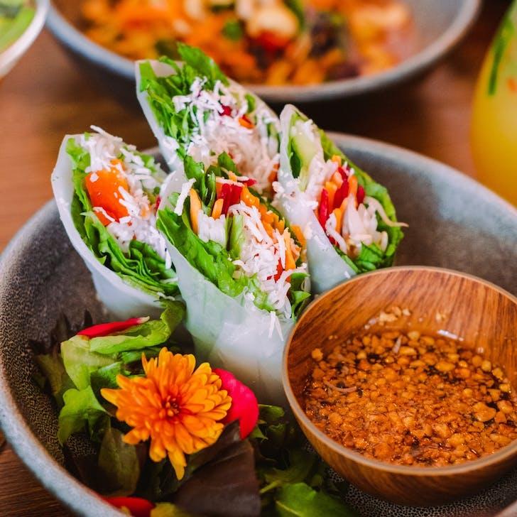 Khu Khu's fresh rolls.