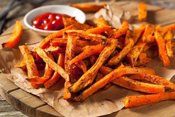 Kumara fries
