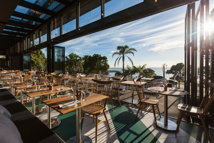 Enjoy bottomless oysters with Regatta's stunning seaside view