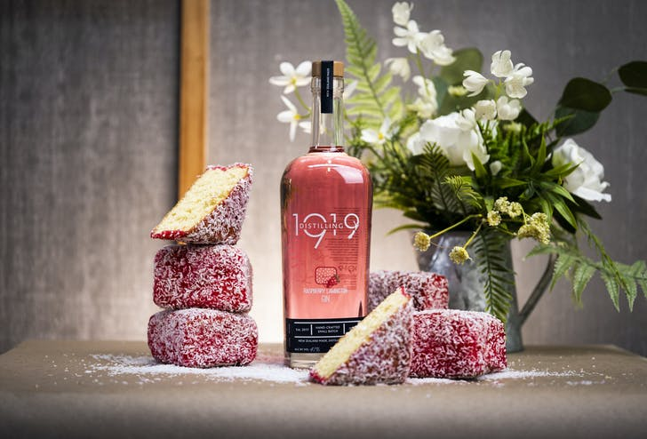 1919 Distilling's Raspberry Lamington Gin.