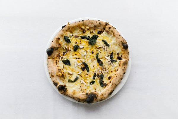 ELMOS truffle pizza in ponsonby auckland