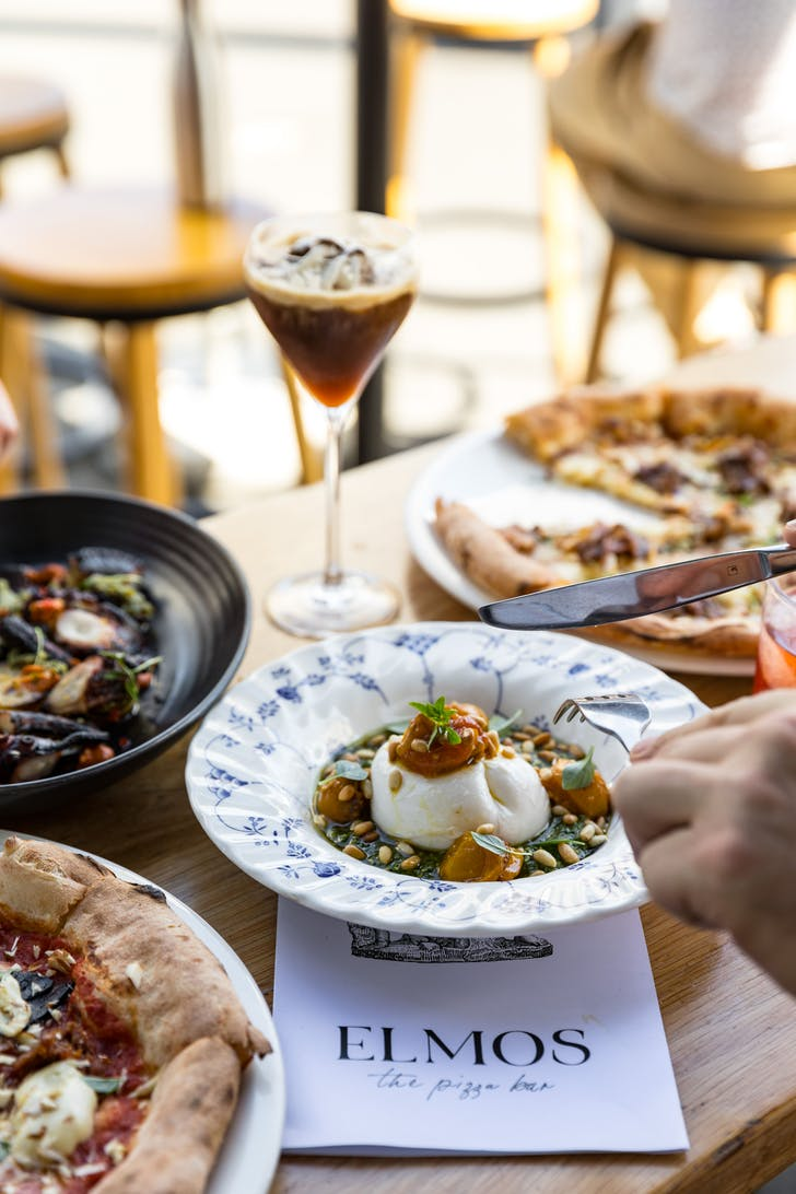 Elmo's daily Aperitivo Hour allows you try a bit of everything.