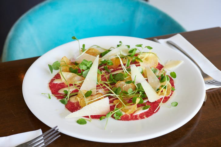 Beef Carpaccio from Morell