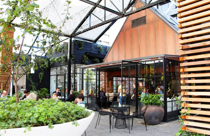 Celebrate under the fairy-lights at Britomart's Ortolana