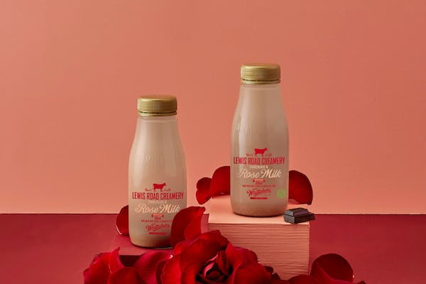 Lewis Road Creamery's Chocolate And Rose Milk