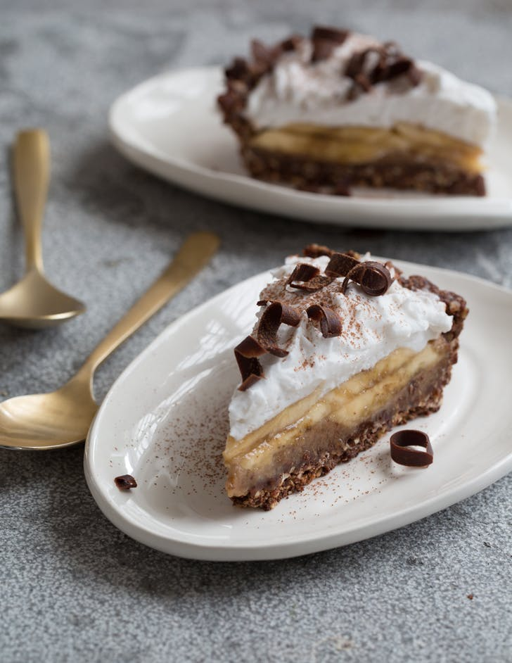 Little Biird's Coconut Cream Banana Pie