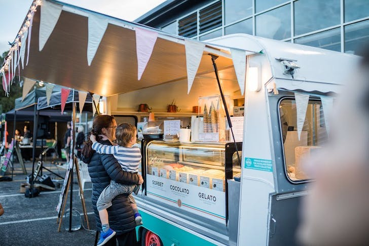 Get down to Orakei Bay Village to visit some of Auckland's best food trucks