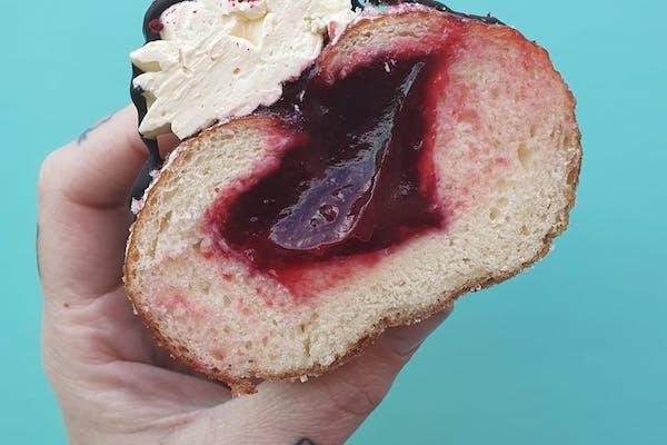 Hello Rosie's vegan donut