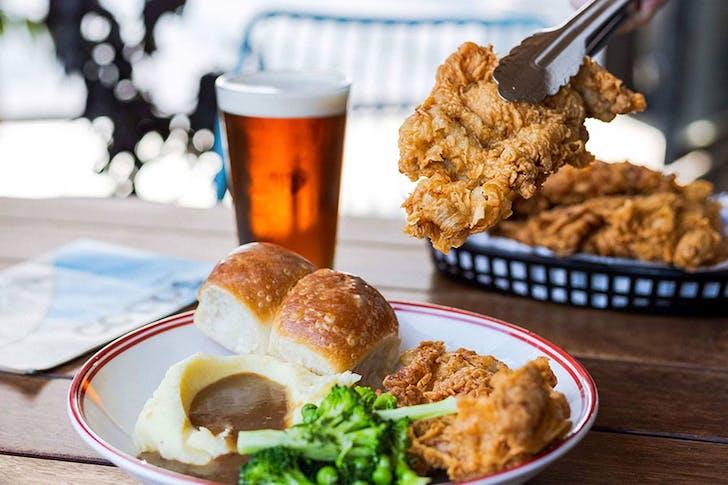 Coops Corner Pubs Fried Chicken nights.