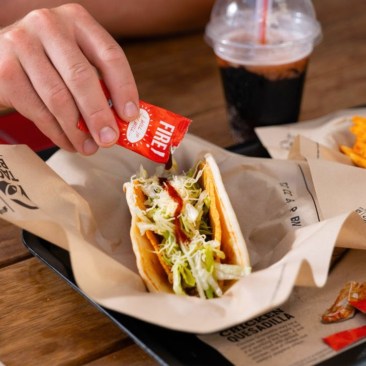 Taco Bell's Cheesy Gordita Crunch