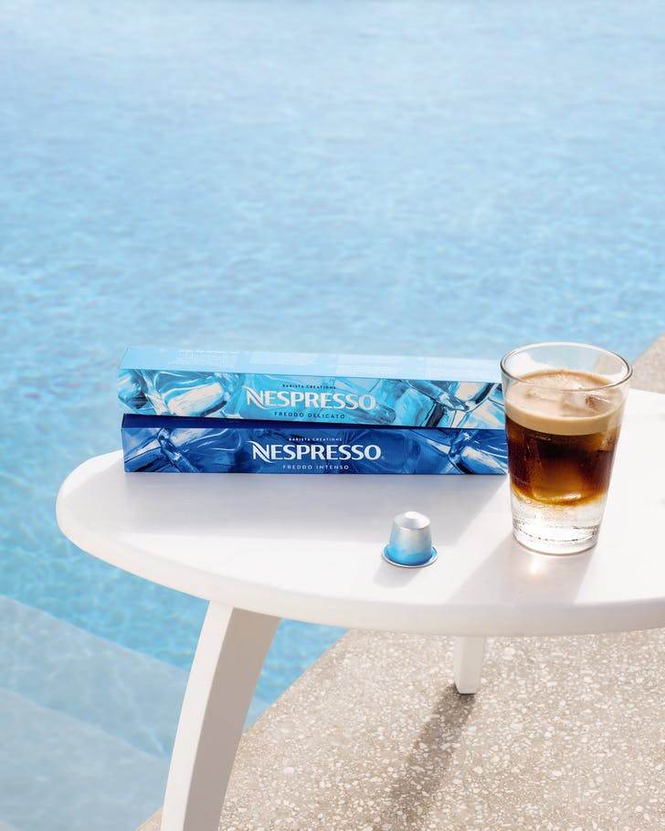 Nespresso's Barista Creations For Ice range is best served poolside, of course.