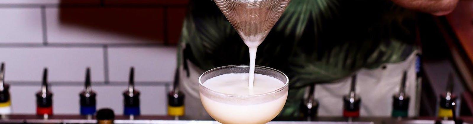 clipper's flat white martini
