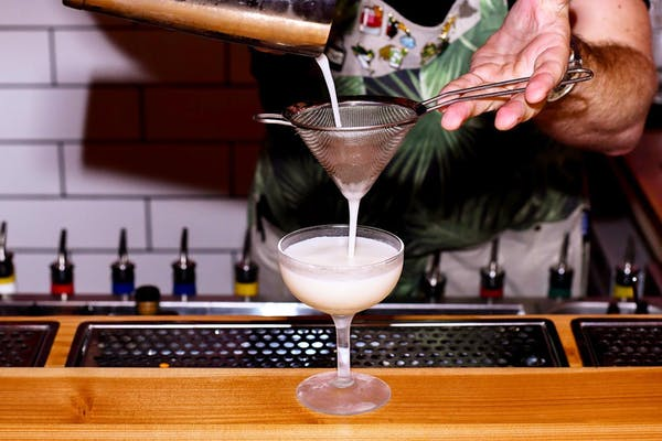 clipper's flat white martini