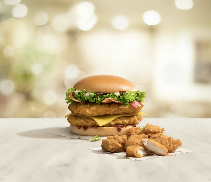 McDonald's new chicken range is available now!