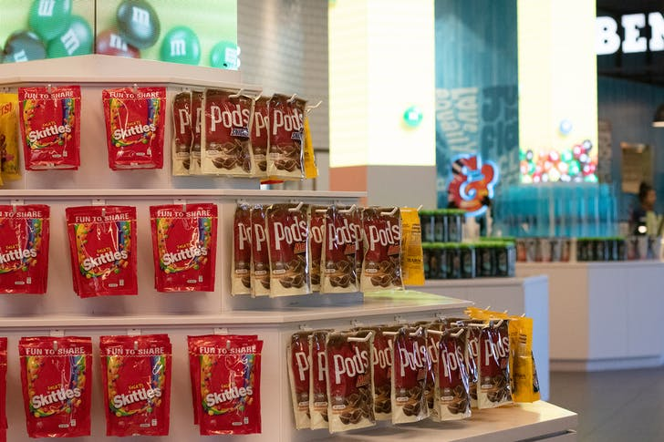 Pick up your favourite confectionary