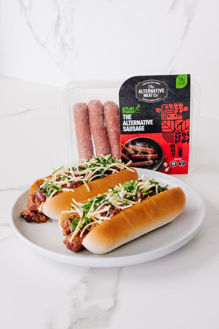 Vegetarian Chilli Dog
