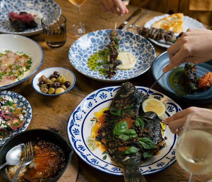 Enjoy an authentic Greek feast at Daphnes, Ponsonby (Credit: Daphnes).
