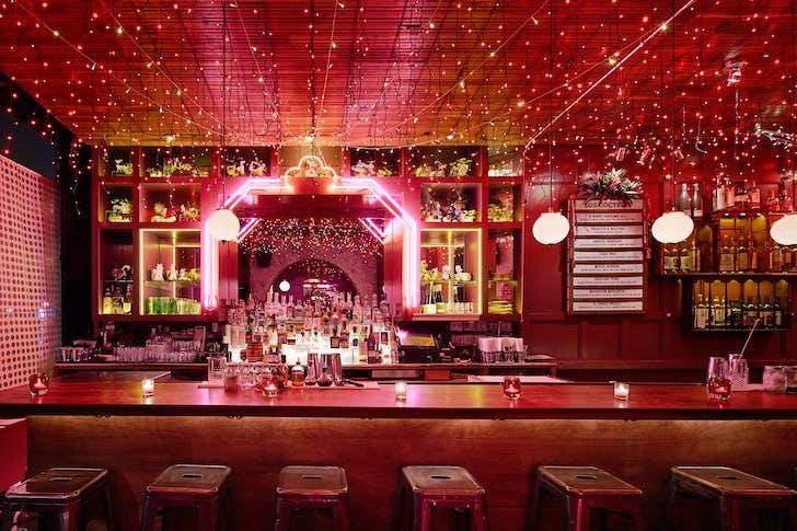 Ghost Donkey's mesmerising bar
