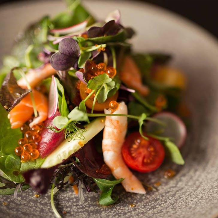 Sashimi Salad from Ebisu