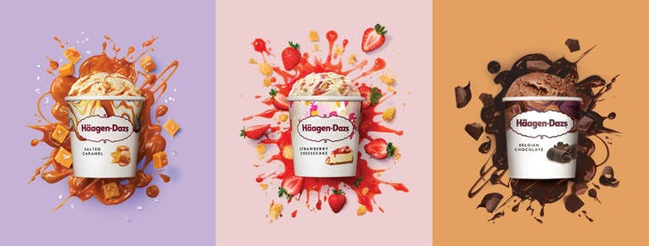 Häagen-Dazs will be delivered straight to your door!