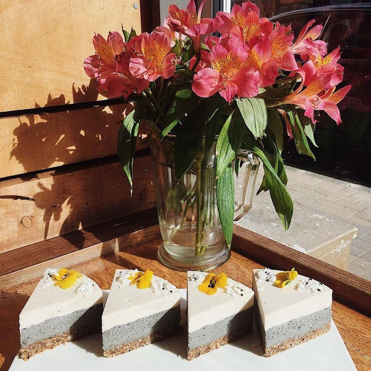 Black Sesame Cheesecake from Mimosa