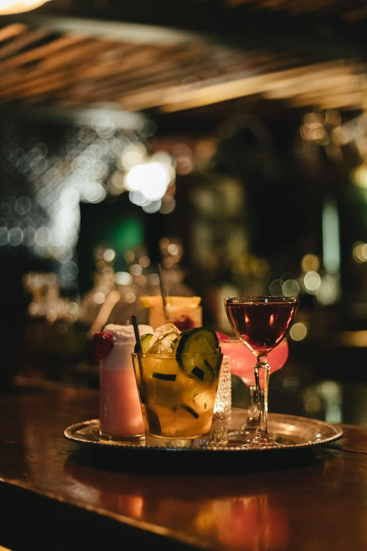 Caretaker's perfectly curated cocktails
