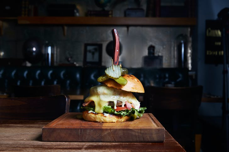 The Ultimate Cheeseburger from The Apothecary