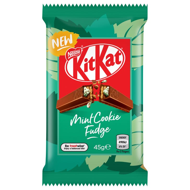 Mint Cookie Fudge 4-finger KitKat