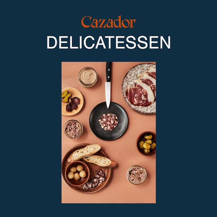 The Cazador Delicatessen specialises in charcuterie and deli favourites