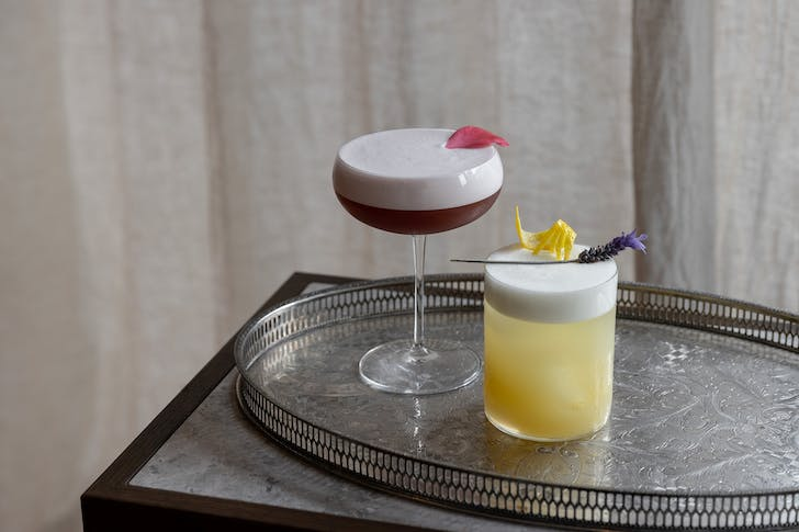 Enjoy a 4-course menu, Champagne, and cocktails at Onslow.