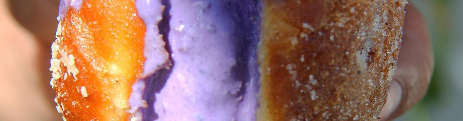 Ube Donut by Hapunan