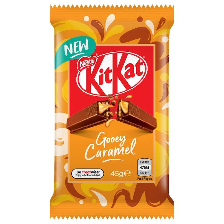 Gooey Caramel 4-finger KitKat
