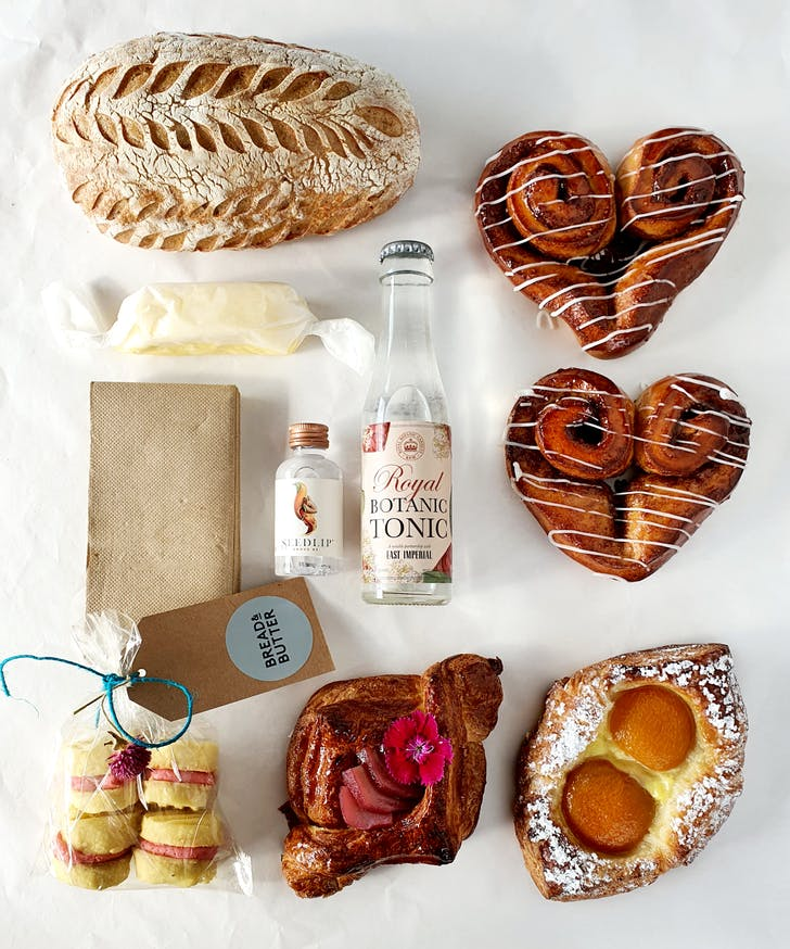 Bread & Butter's lush Mother's Day boxes.