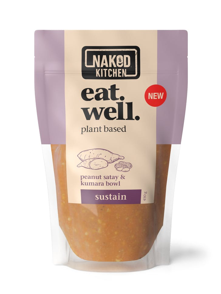 Naked Kitchen's latest plant-based ready meal.