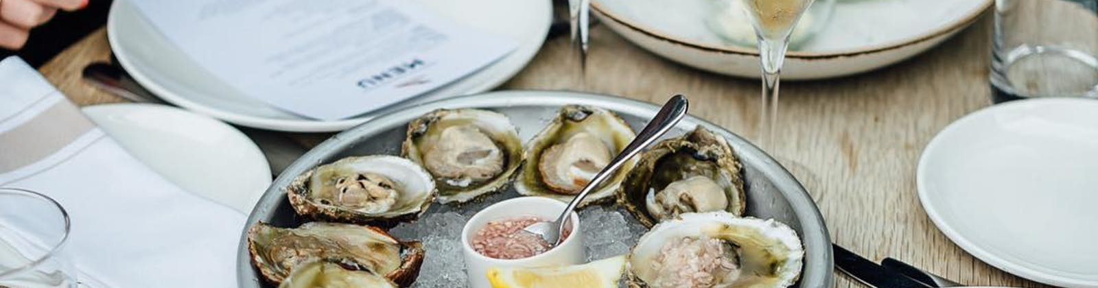 Bluff oysters from Regatta bar and eatery