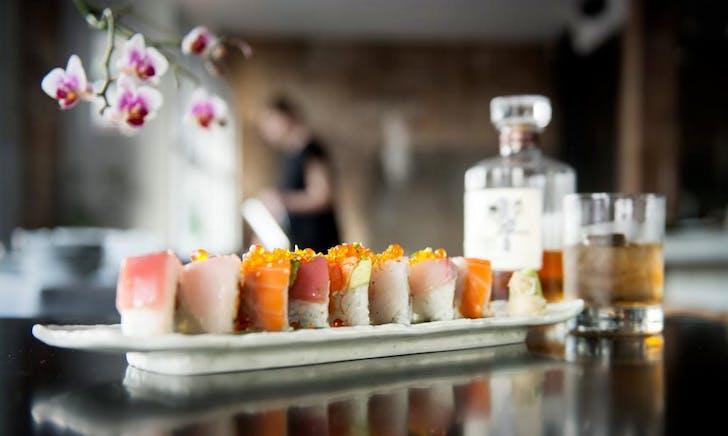 Sushi rolls from Ebisu