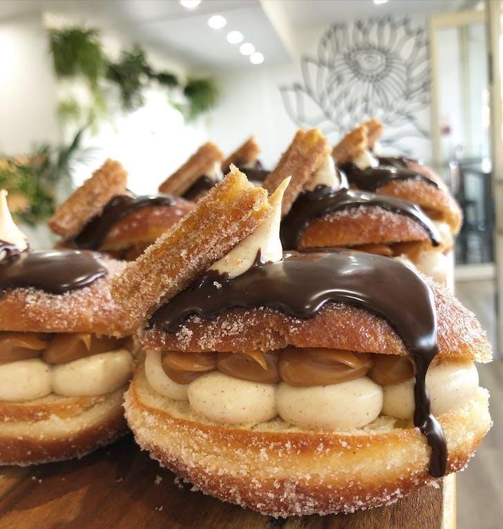 Beaufort + Co's homemade doughnuts
