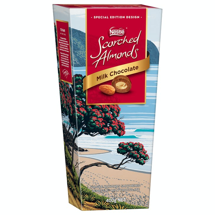 Scorched Almonds has released 4 iconic Kiwi designs for summer.