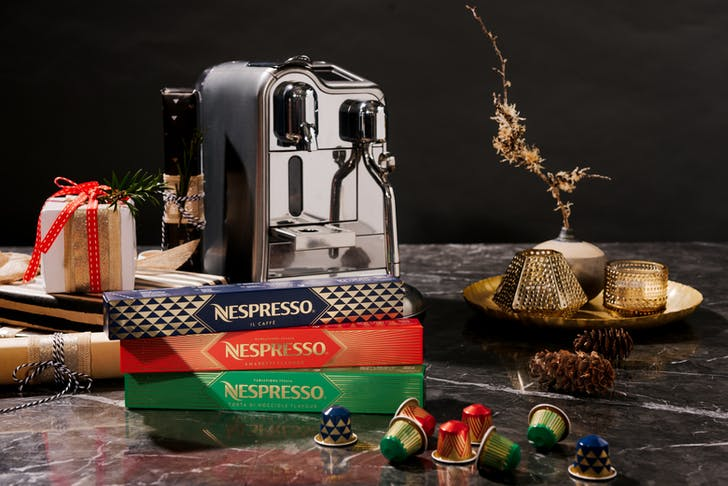 Nespresso's limited festive pods.