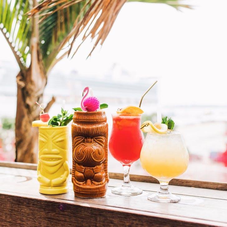 Tiki cocktails at Talulah