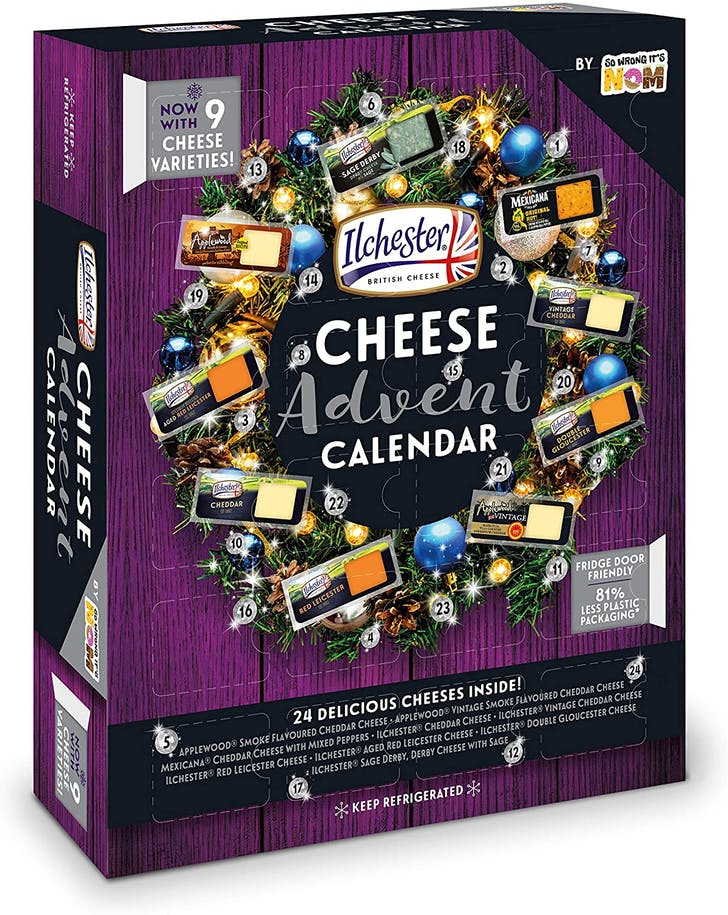 Ilchester Cheese Advent Calendar.