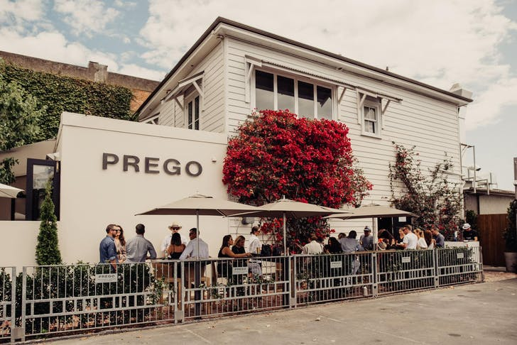 Prego's picturesque Ponsonby courtyard