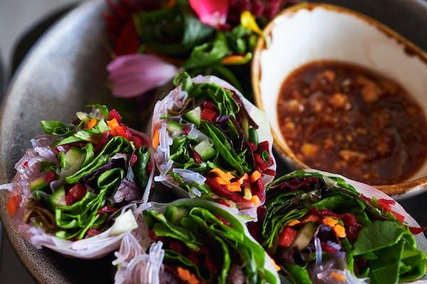 khu khu vegan spring rolls auckland