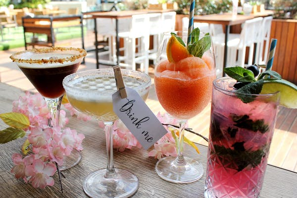The Glass Goose's cocktails for spring