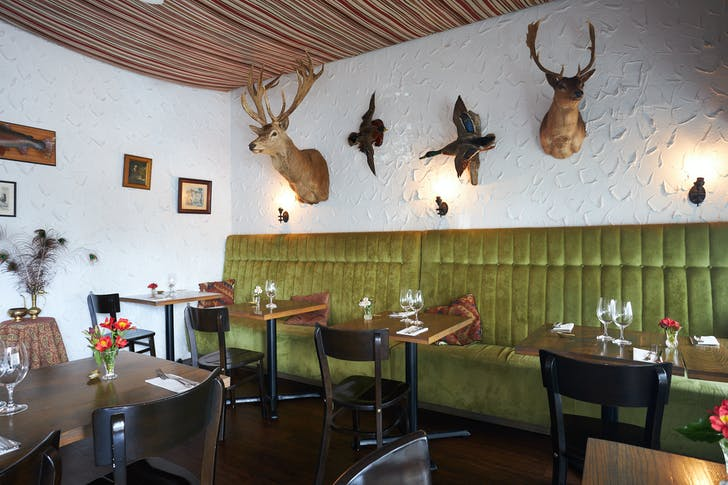 Cazador is well-known for their quality game meat and funky interior