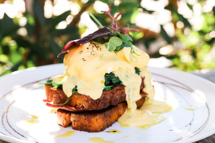 Eggs Benedict from Zomer
