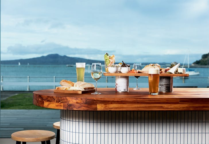 Order up and enjoy the view at Akarana Eatery