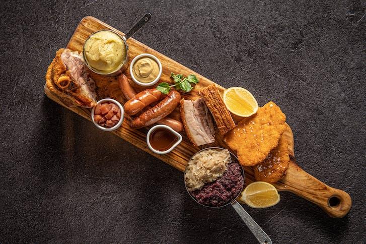 The Bavarian Original Tasting Platter