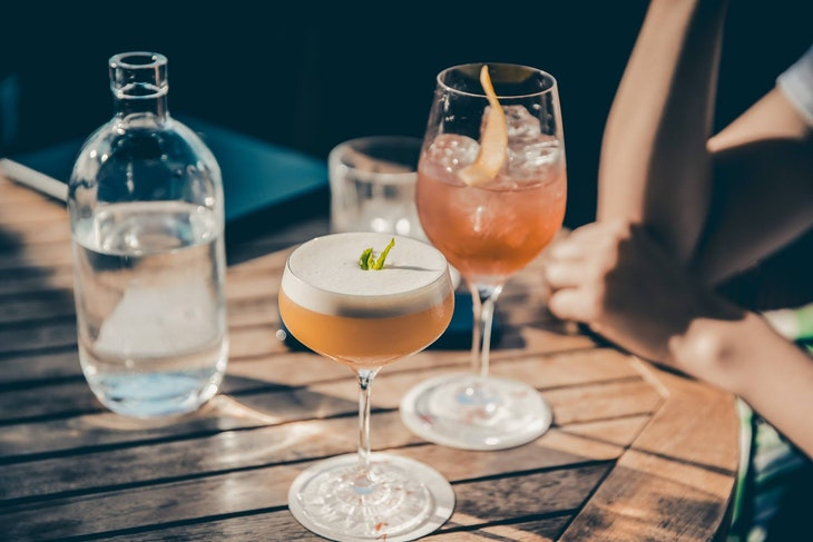 Cocktails from The Parasol & Swing Company